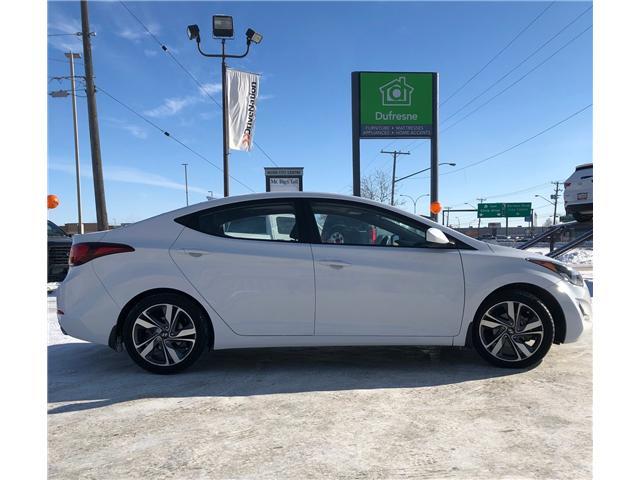 2016 Hyundai Elantra GLS (Stk: A2642) in Saskatoon - Image 6 of 15