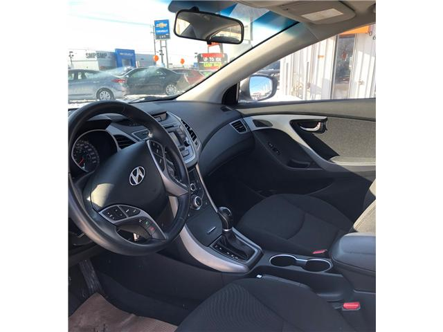 2016 Hyundai Elantra GLS (Stk: A2642) in Saskatoon - Image 9 of 15