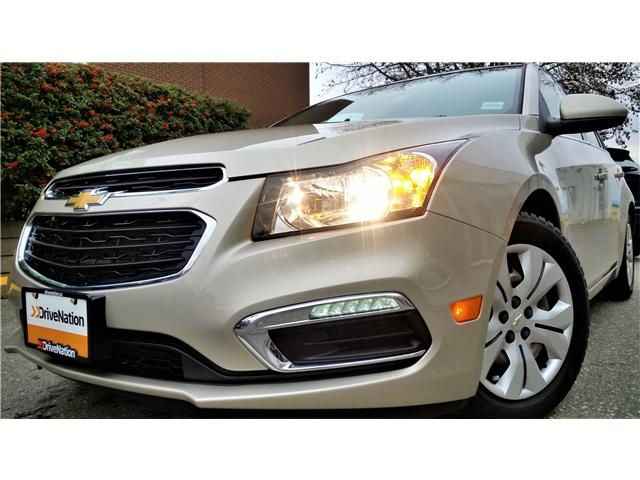 2016 Chevrolet Cruze Limited 1LT (Stk: G0019) in Abbotsford - Image 1 of 19