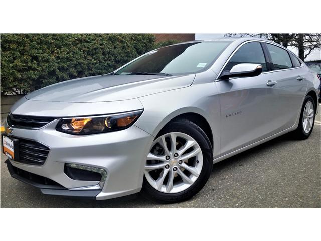 2018 Chevrolet Malibu LT (Stk: G0118) in Abbotsford - Image 1 of 24