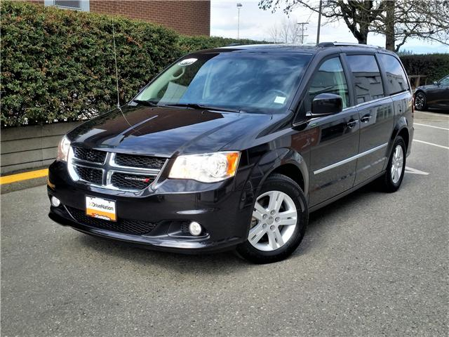 2017 Dodge Grand Caravan Crew 2C4RDGDG4HR775138 G0107 in Abbotsford