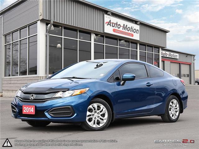 2014 Honda Civic LX (Stk: 181302) in Chatham - Image 1 of 27