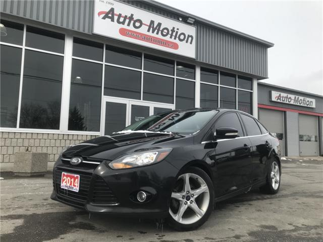 2014 Ford Focus Titanium (Stk: T81320) in Chatham - Image 1 of 14
