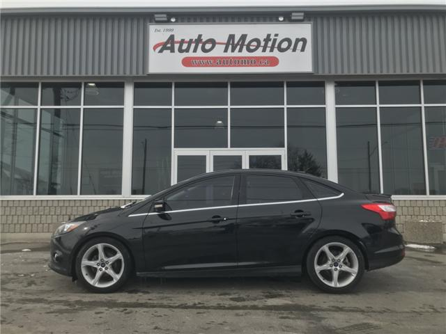 2014 Ford Focus Titanium (Stk: T81320) in Chatham - Image 2 of 14