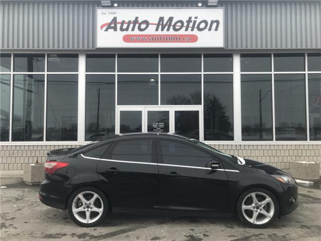 2014 Ford Focus Titanium (Stk: T81320) in Chatham - Image 4 of 14