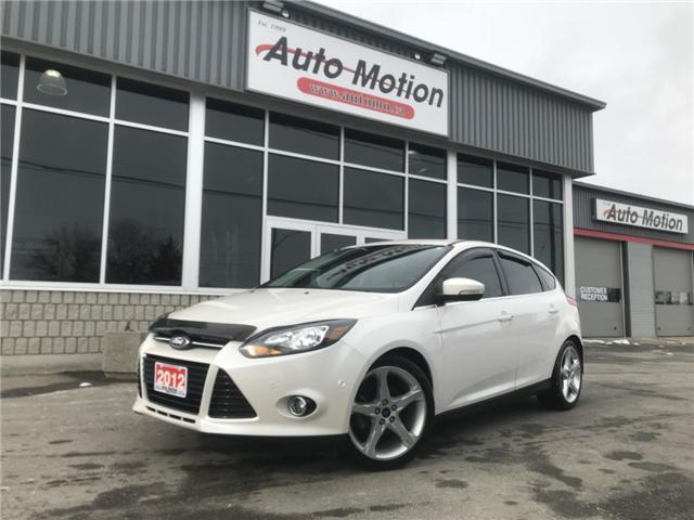 2012 Ford Focus Titanium (Stk: 19191) in Chatham - Image 1 of 16