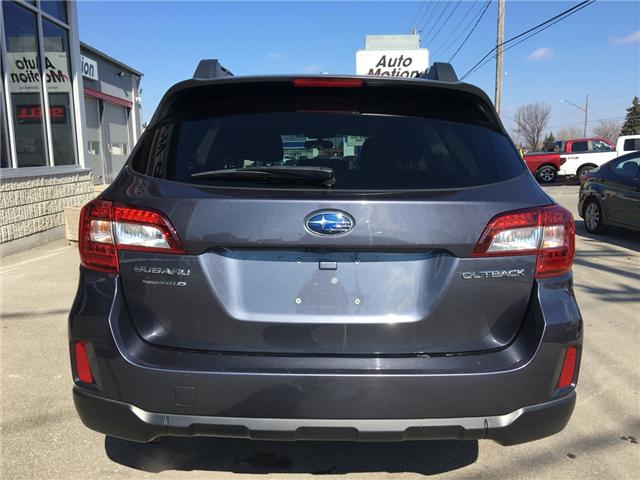 2015 Subaru Outback 2.5i (Stk: 19222) in Chatham - Image 5 of 21