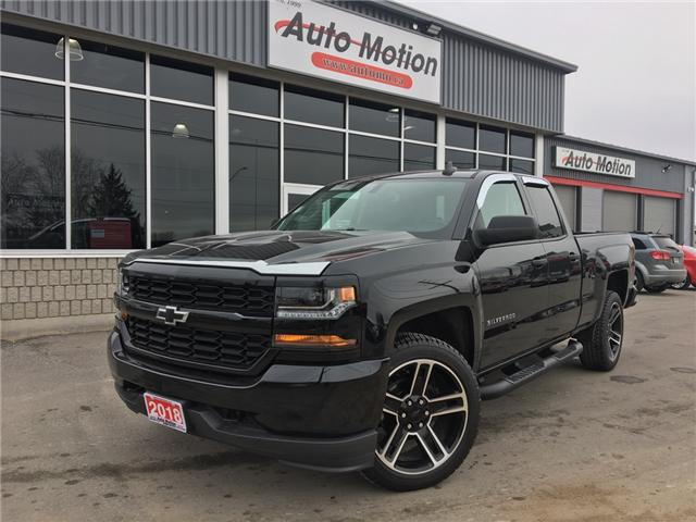 2018 Chevrolet Silverado 1500 Silverado Custom (Stk: 19235) in Chatham - Image 1 of 18