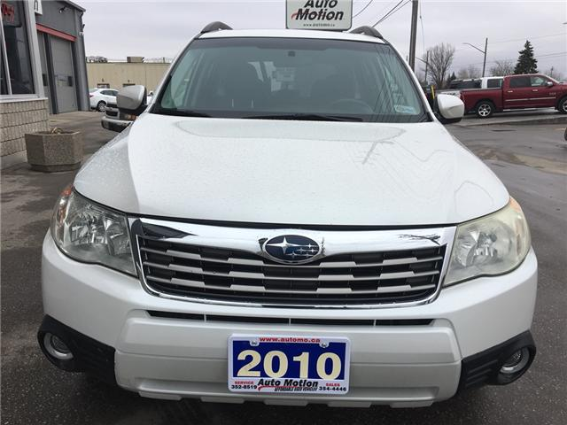 2010 Subaru Forester  (Stk: 19231) in Chatham - Image 4 of 19