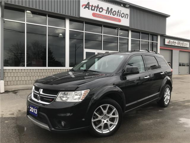 2013 Dodge Journey SXT/Crew (Stk: 19249) in Chatham - Image 1 of 20