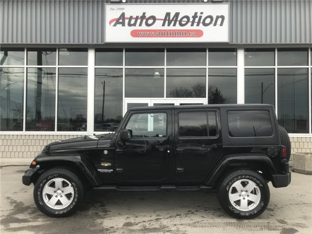 2011 Jeep Wrangler Unlimited Sahara (Stk: 19239) in Chatham - Image 2 of 19