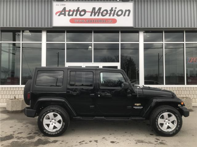 2011 Jeep Wrangler Unlimited Sahara (Stk: 19239) in Chatham - Image 3 of 19