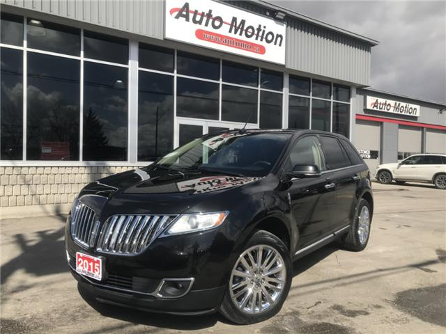 2015 Lincoln MKX Base (Stk: 19261) in Chatham - Image 1 of 24