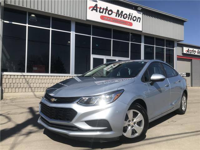 2017 Chevrolet Cruze LS Manual (Stk: 19267) in Chatham - Image 1 of 19