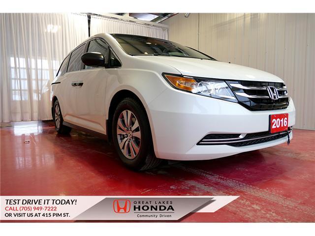 2016 Honda Odyssey SE 5FNRL5H39GB508506 H6200A in Sault Ste. Marie
