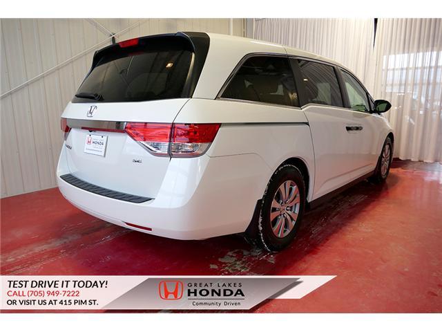 2016 Honda Odyssey SE (Stk: H6200A) in Sault Ste. Marie - Image 6 of 22