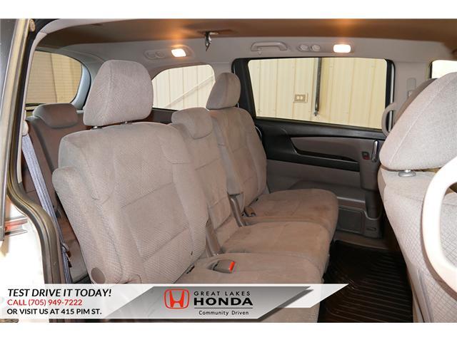 2016 Honda Odyssey SE (Stk: H6200A) in Sault Ste. Marie - Image 13 of 22