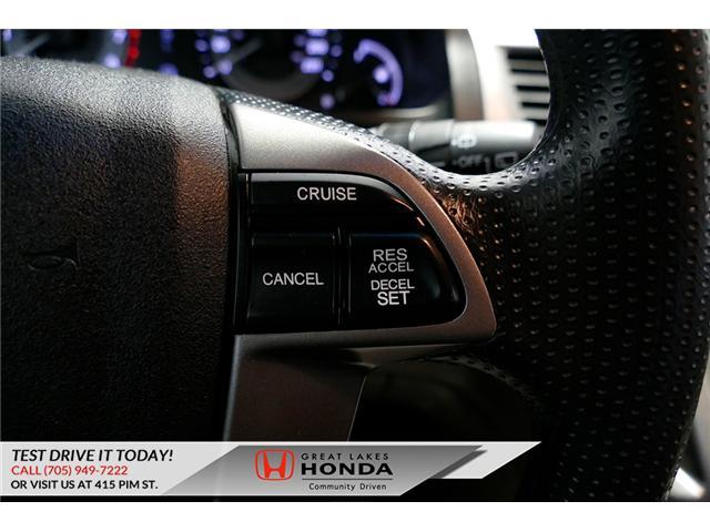 2016 Honda Odyssey SE (Stk: H6200A) in Sault Ste. Marie - Image 18 of 22