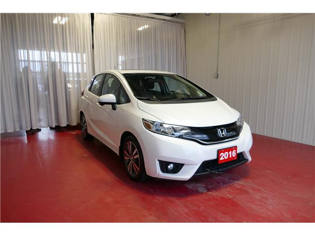 2016 Honda Fit EX-L Navi 3HGGK5H85GM100796 HP709 in Sault Ste. Marie
