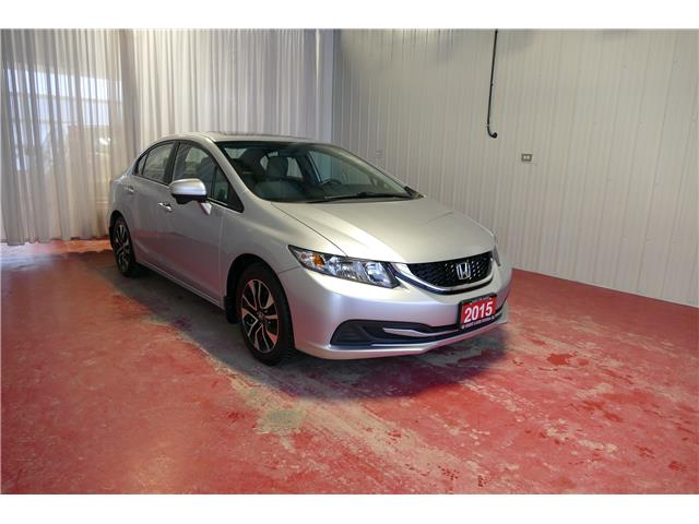 2015 Honda Civic EX (Stk: HP720) in Sault Ste. Marie - Image 1 of 16