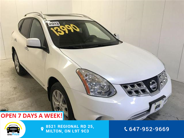 2013 Nissan Rogue SV (Stk: 039183) in Milton - Image 1 of 1