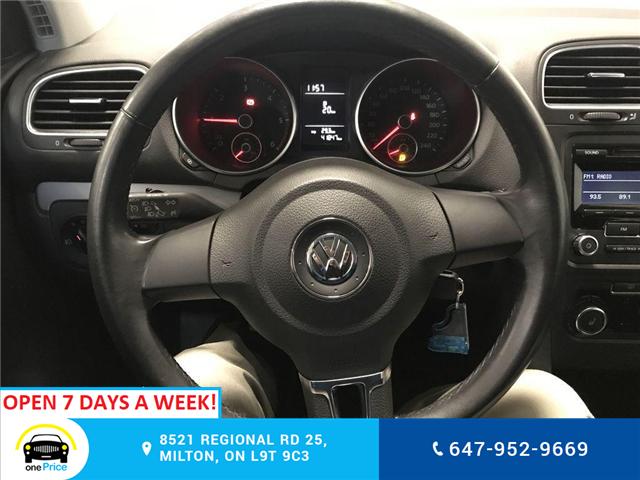 2012 Volkswagen Golf 2.0 TDI Comfortline (Stk: 316724) in Milton - Image 18 of 28
