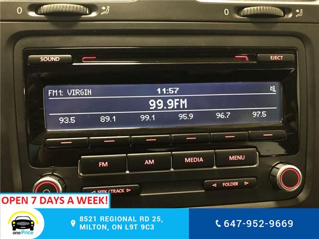 2012 Volkswagen Golf 2.0 TDI Comfortline (Stk: 316724) in Milton - Image 19 of 28