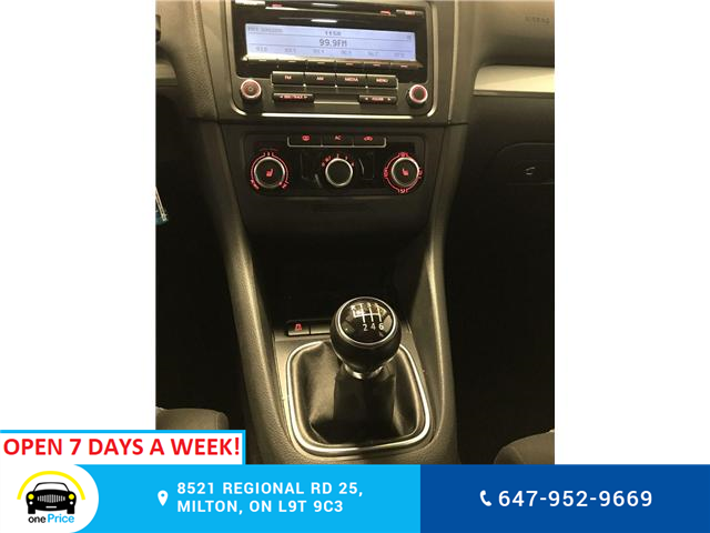 2012 Volkswagen Golf 2.0 TDI Comfortline (Stk: 316724) in Milton - Image 22 of 28