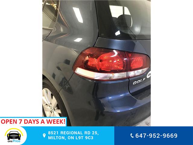 2012 Volkswagen Golf 2.0 TDI Comfortline (Stk: 316724) in Milton - Image 24 of 28