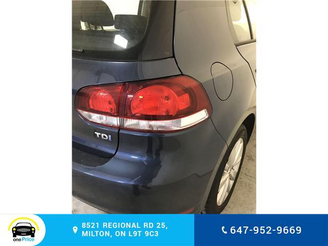 2012 Volkswagen Golf 2.0 TDI Comfortline (Stk: 316724) in Milton - Image 25 of 28