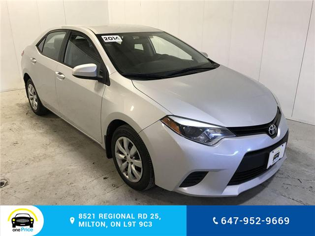 2014 Toyota Corolla LE (Stk: 129763) in Milton - Image 1 of 28