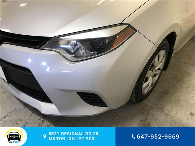2014 Toyota Corolla LE (Stk: 129763) in Milton - Image 5 of 28