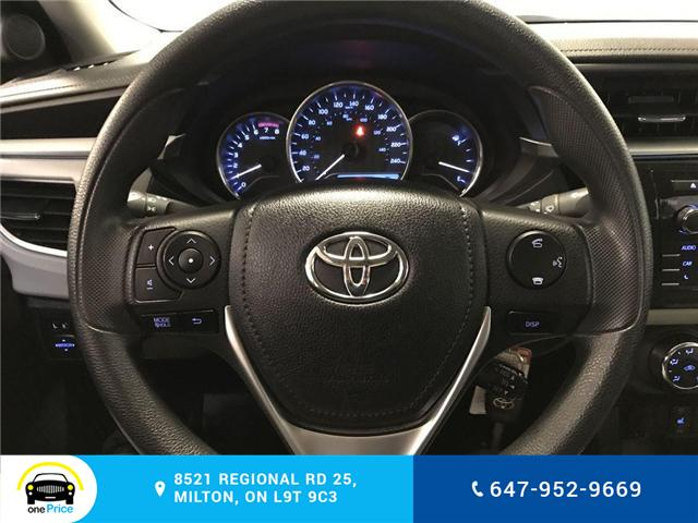 2014 Toyota Corolla LE (Stk: 129763) in Milton - Image 18 of 28