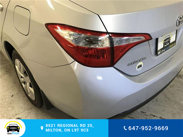 2014 Toyota Corolla LE (Stk: 129763) in Milton - Image 24 of 28