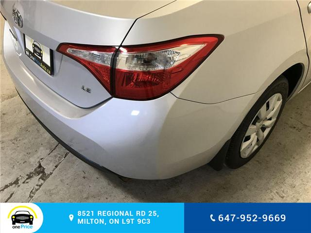 2014 Toyota Corolla LE (Stk: 129763) in Milton - Image 25 of 28