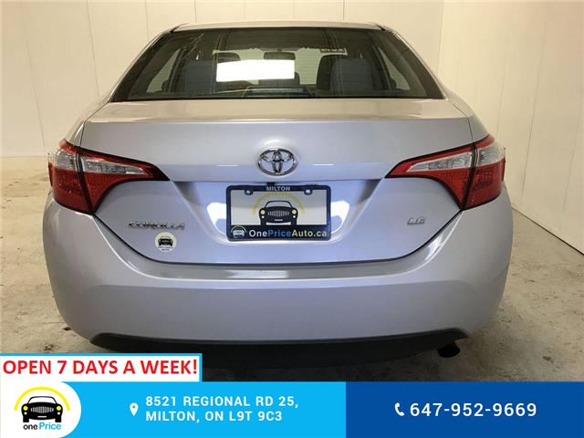 2014 Toyota Corolla LE (Stk: 129763) in Milton - Image 26 of 28