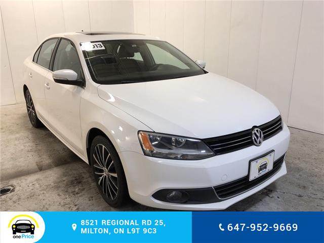 2013 Volkswagen Jetta 2.0 TDI Highline (Stk: 400599) in Milton - Image 1 of 30