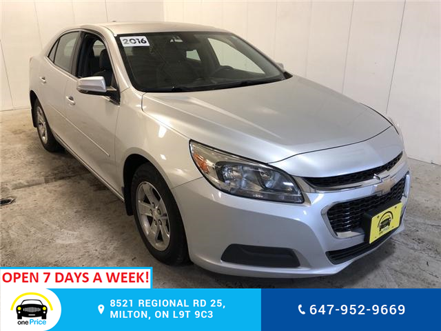 2016 Chevrolet Malibu 1FL (Stk: 131873) in Milton - Image 1 of 24