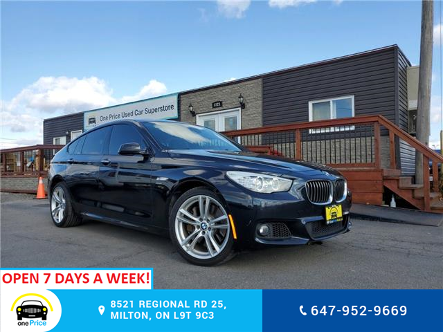 2012 BMW 550i xDrive Gran Turismo (Stk: 10366) in Milton - Image 1 of 29