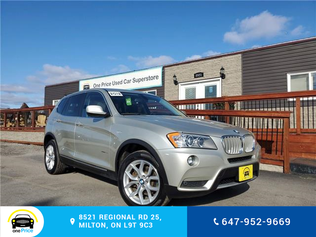 2012 BMW X3 xDrive28i (Stk: 10345) in Milton - Image 1 of 30