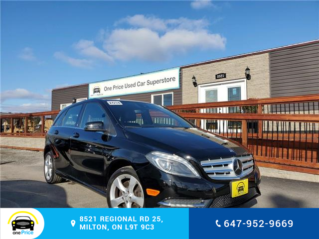 2014 Mercedes-Benz B-Class Sports Tourer (Stk: 10344) in Milton - Image 1 of 11