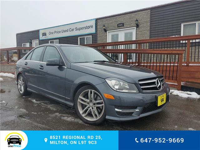 2014 Mercedes-Benz C-Class Base (Stk: 960385) in Milton - Image 1 of 26