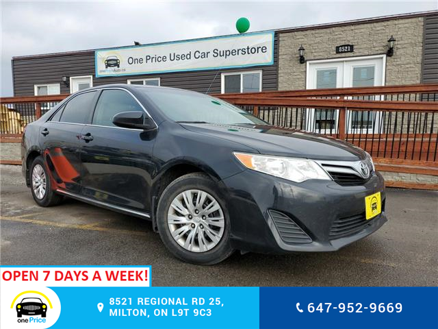 2013 Toyota Camry LE (Stk: 10370) in Milton - Image 1 of 24