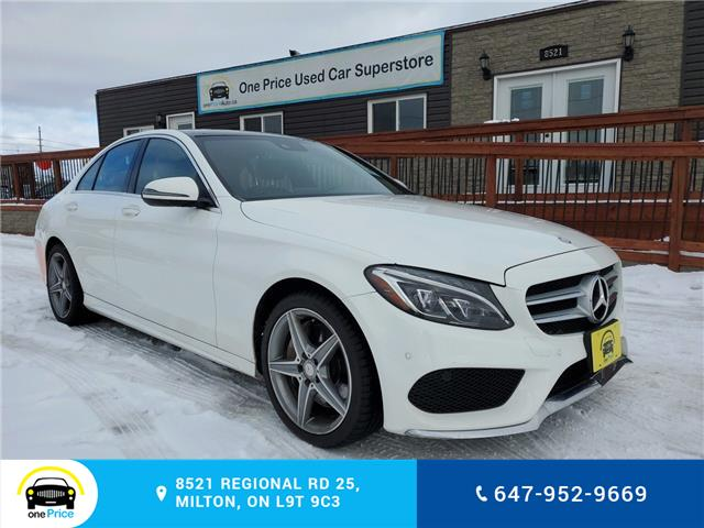 2016 Mercedes-Benz C-Class Base (Stk: 10395) in Milton - Image 2 of 30