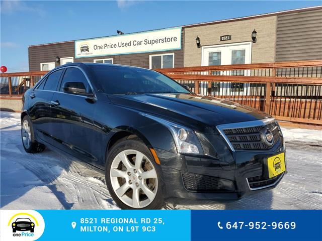 2013 Cadillac ATS 2.0L Turbo (Stk: 10399) in Milton - Image 1 of 27