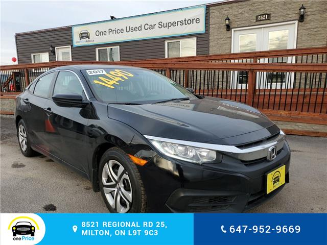 2017 Honda Civic LX (Stk: 10401) in Milton - Image 2 of 23