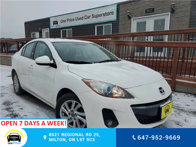 2013 Mazda Mazda3 GS-SKY (Stk: 10468) in Milton - Image 1 of 24