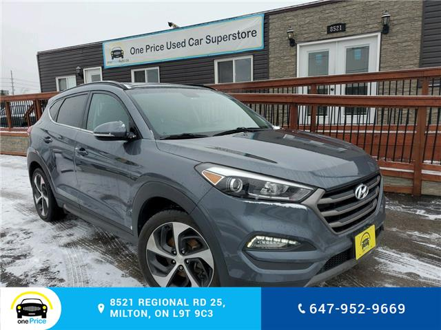 2016 Hyundai Tucson Limited (Stk: 040141) in Milton - Image 1 of 28