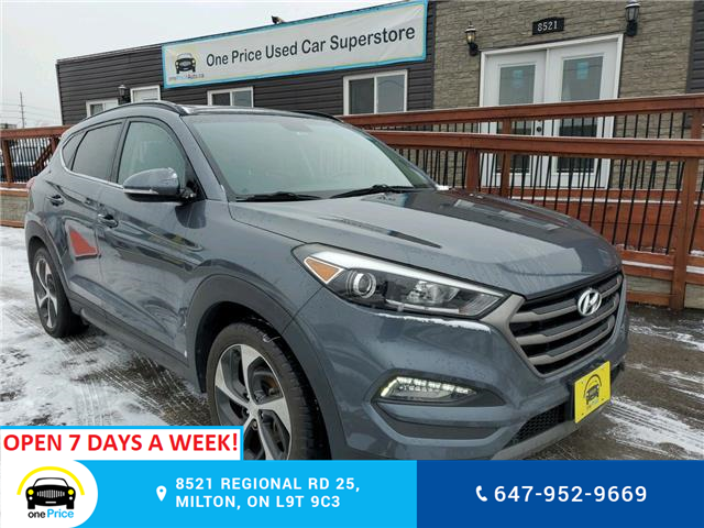 2016 Hyundai Tucson Limited (Stk: 040141) in Milton - Image 2 of 28