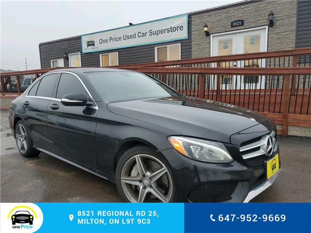 2015 Mercedes-Benz C-Class Base (Stk: 10446) in Milton - Image 1 of 27